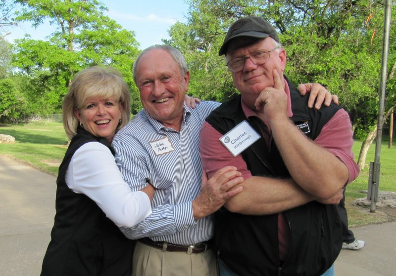 2012 Christie, Lavern, Charles at Commerce Event