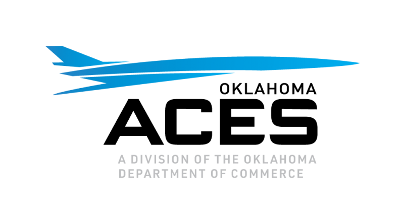 Oklahoma ACES logo - A Division of the Oklahoma Department of Commerce