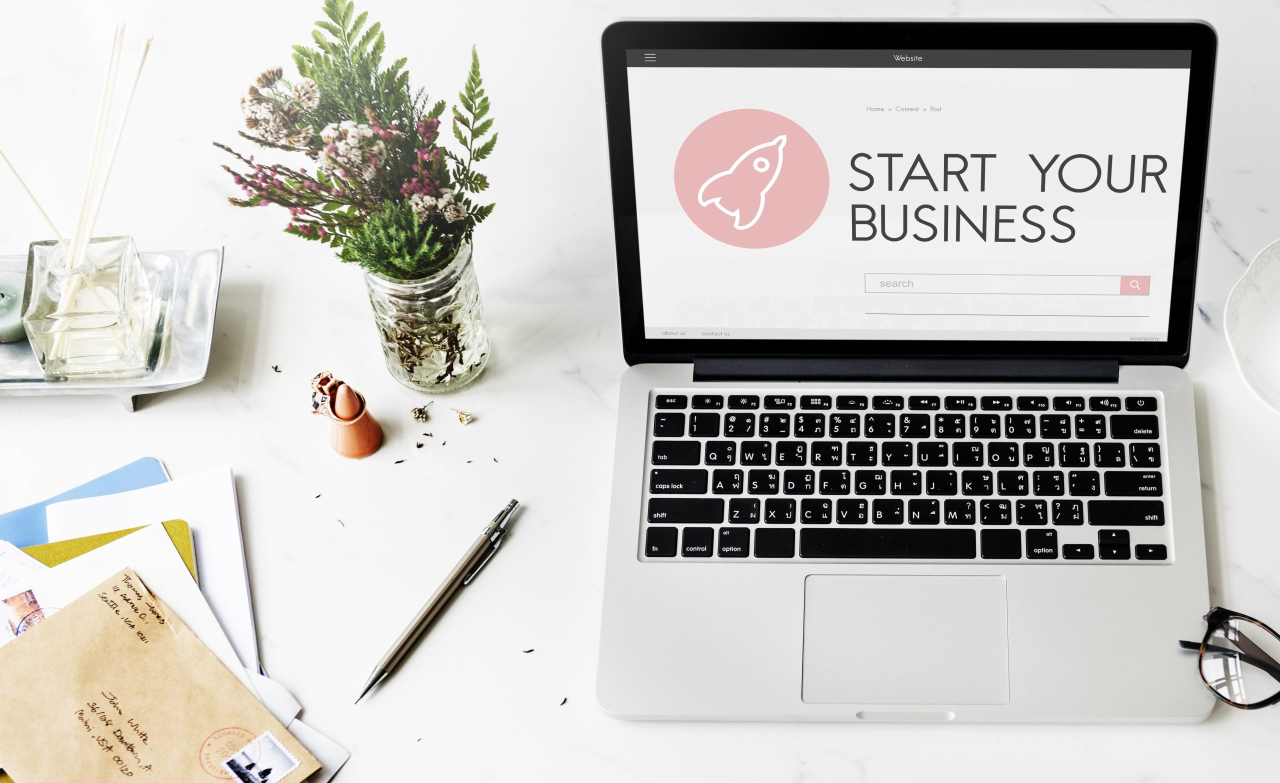 Startup Business Launch Concept