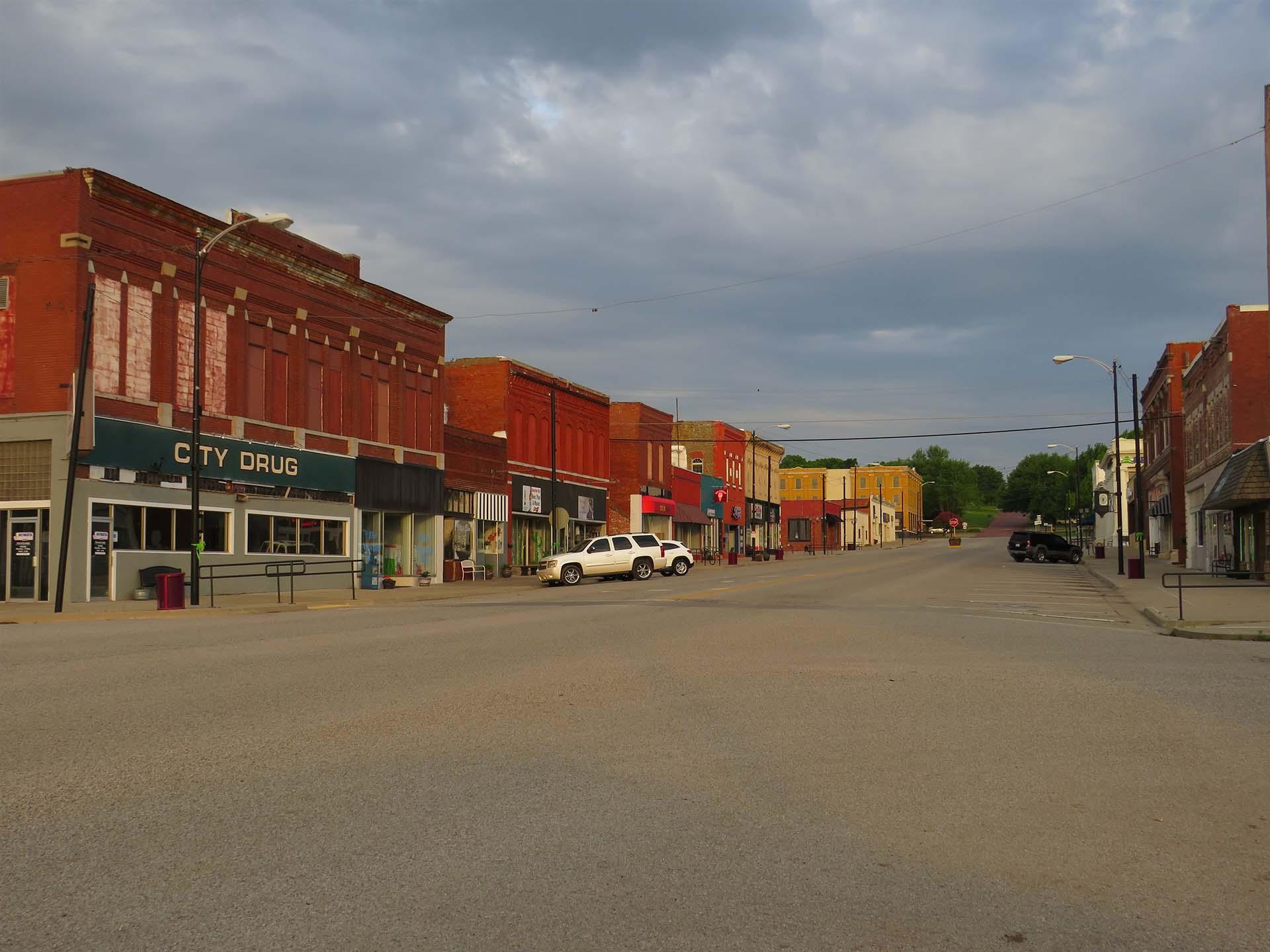 Downtown Nowata, Oklahoma