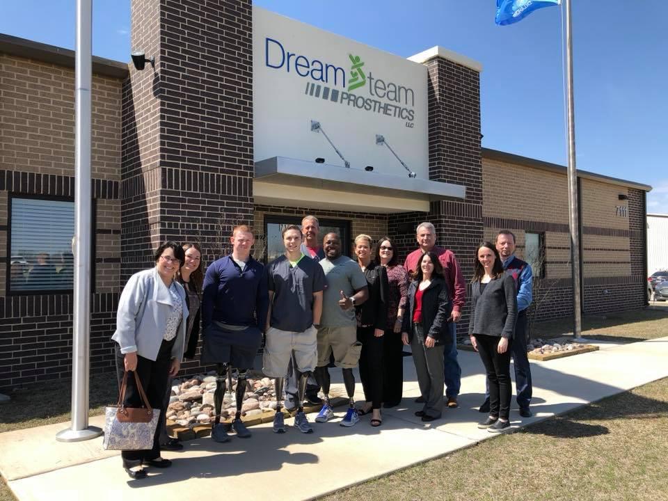 DreamTeam-Prosthetics Group outside offices