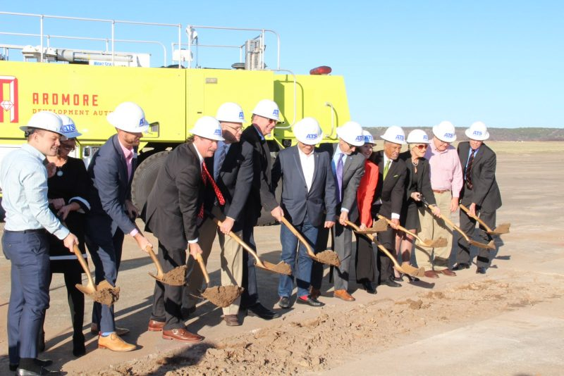 Groundbreaking at ATS in Ardmore Oklahoma