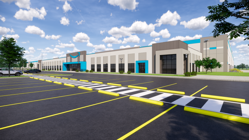 Render Amazon Fulfillment Center