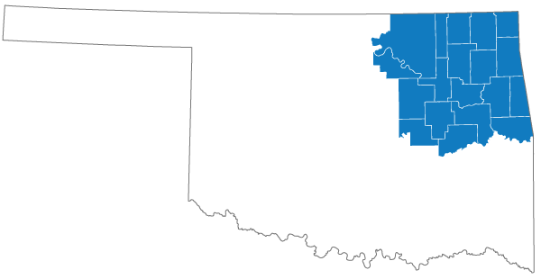 Oklahoma Commerce Northeast Region