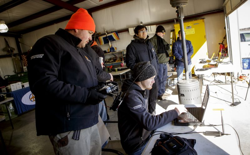 OSU researchers and partners from Vigilant Aerospace engage in flight testing as they work to develop a detect-and-avoid drone system using technology licensed by NASA.